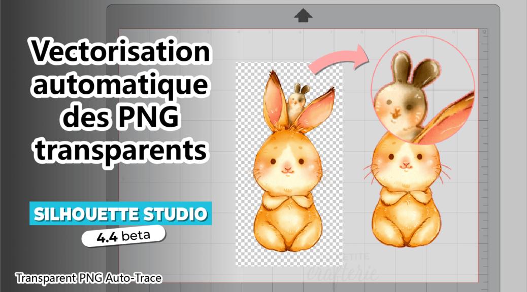 Silhouette Studio 4.4 Auto-trace PNG