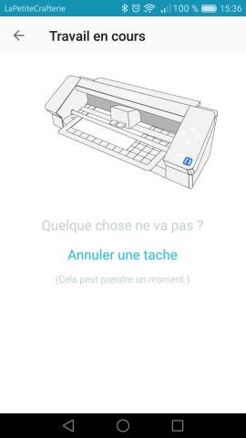 Silhouette Go - Envoi