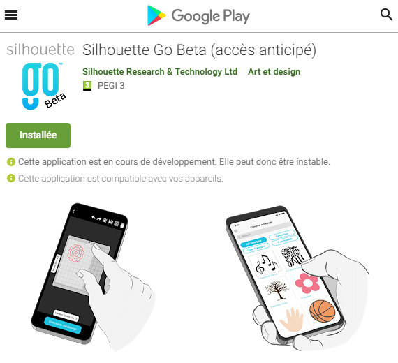 Silhouette Go - GooglePlay
